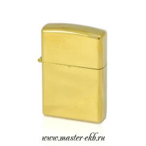Зажигалка дуговая золото