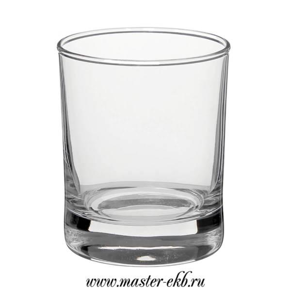 Гравировка на стакане под виски